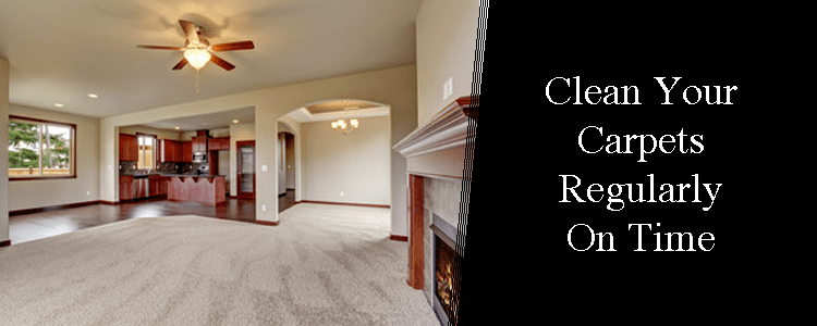 Clean your Carpets Regularly on Time